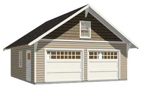 Garage builder elyria ohio 44035 44036 24 x 28 garage plans free